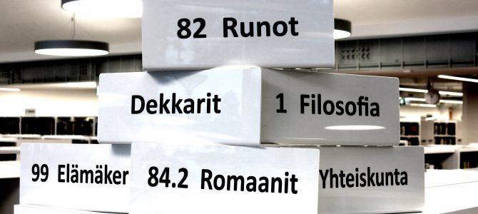 Aikuisten kirjavinkkausta Kankaanpään kirjastolla